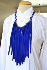 neckpiece cobalt