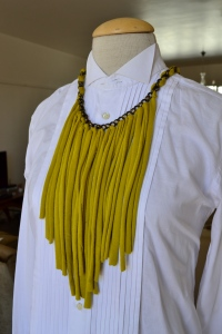 neckpiece yellow